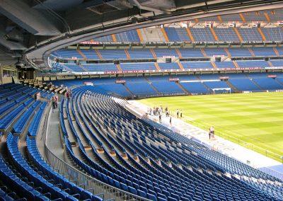 Actuaciones en el Estadio 5