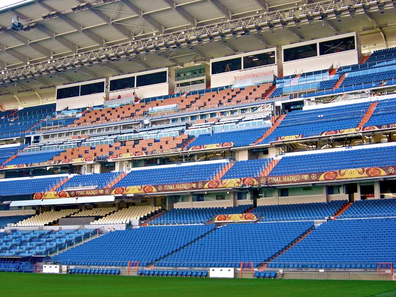 Adecuaci n estadio para final uefa champions league - Palco santiago bernabeu ...