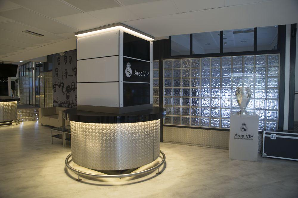 Proyecto de iluminación zonas VIP Estadio Santiago Bernabéu