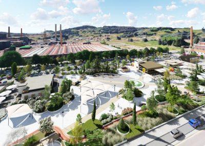 Remodelación entorno Sniace – Torrelavega