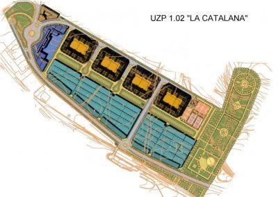 Urbanización La Catalana. Vicálvaro. Madrid