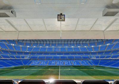 Ampliación del palco presidencial Santiago Bernabéu