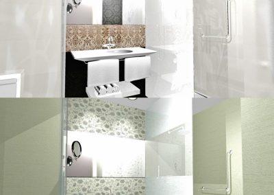 Proyecto de decoración de baños en Hotel Meliá, Madrid