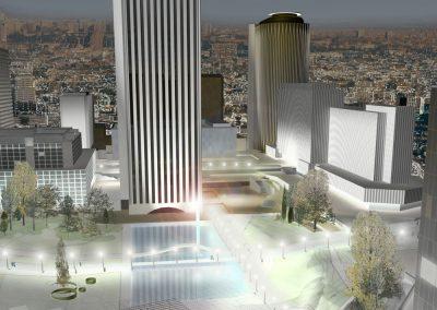 Concurso de ideas para la remodelación de AZCA en el Paseo de la Castellana de Madrid