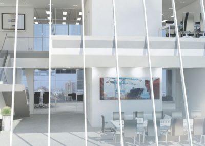 Proyecto de edificio de oficinas en Lima (Perú)