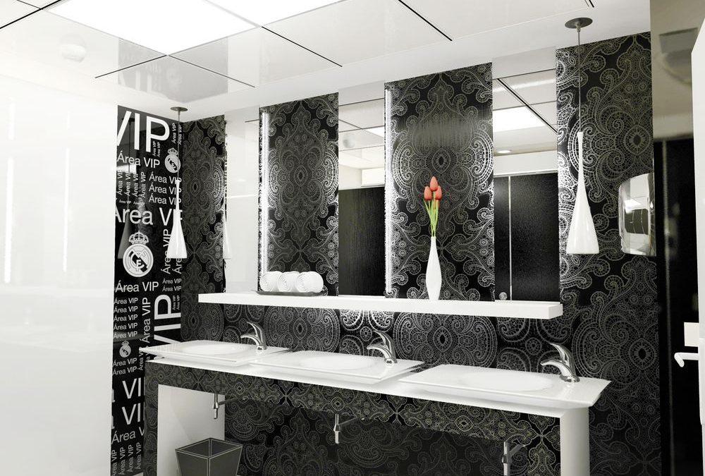 Remodelación de baños de zona VIP del Estadio Santiago Bernabéu