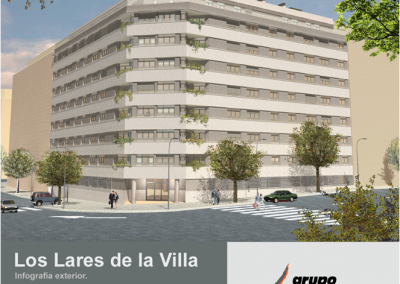 67 viviendas en Ensanche de Vallecas. Los Lares de la Villa
