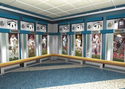Vestuarios de Estadio Santiago Bernabéu
